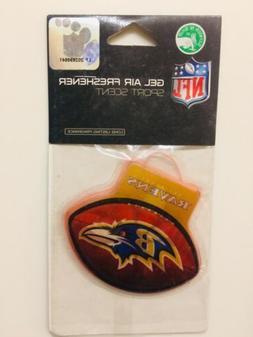 BRAND NEW Baltimore Ravens Car Auto Gel Air Freshener Sport