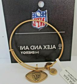 Alex and Ani Gold Baltimore Ravens NFL Football Charm - NWT