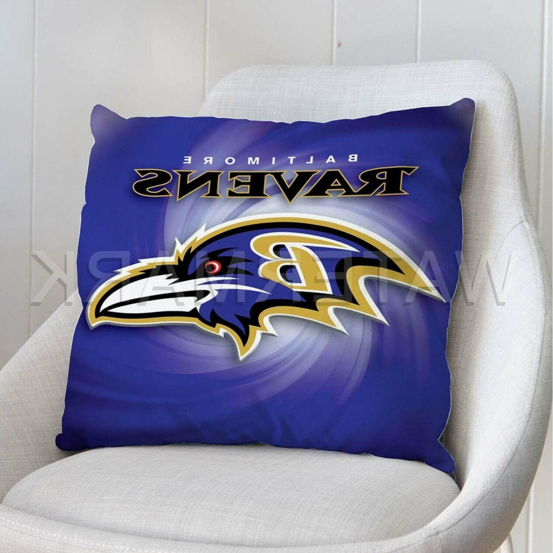 baltimore ravens custom pillows car sofa bed