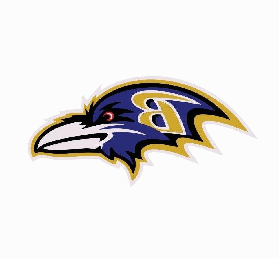 baltimore ravens nfl football color logo sports