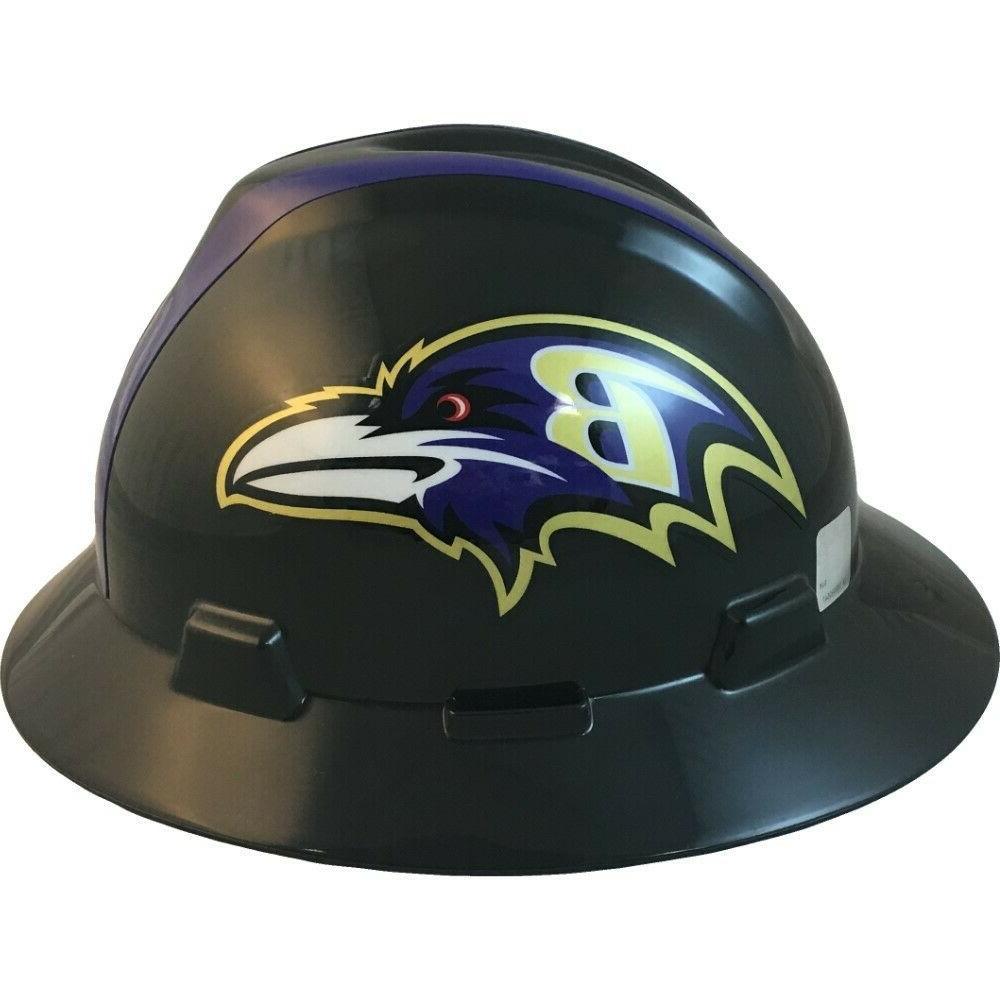 Baltimore Ravens MSA NFL Full Brim Hard with