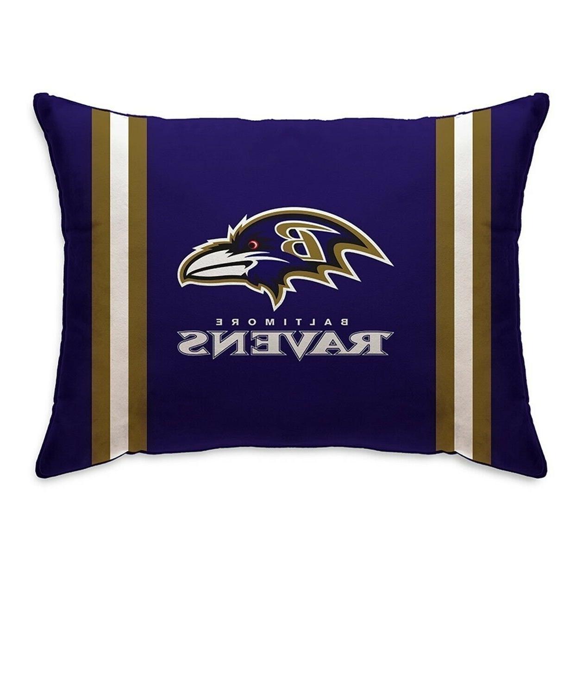 baltimore ravens plush bed pillow nfl football