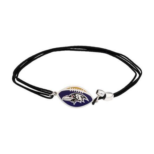 baltimore ravens pull cord bracelet as17kc31s