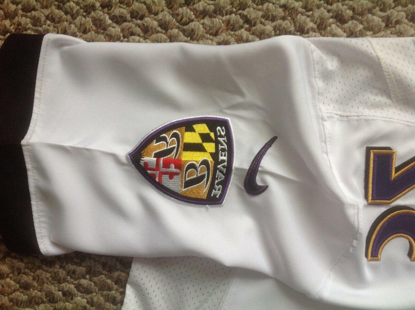 Nike Baltimore Ravens Lewis Super XLVII NFL Men's White Jersey
