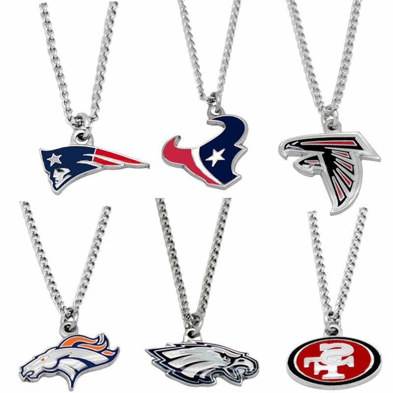 logo necklace charm pendant nfl pick your