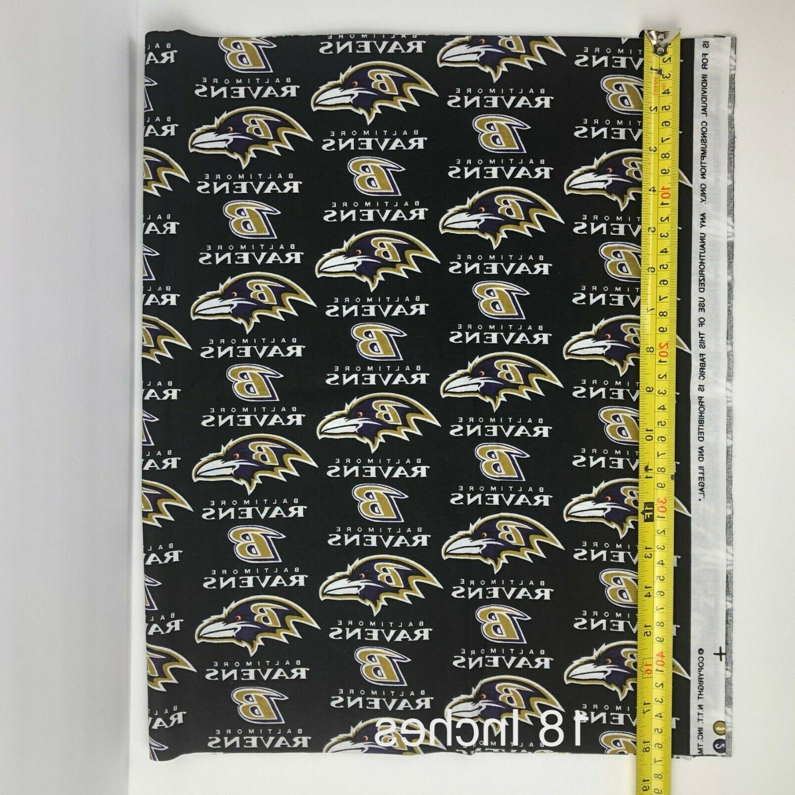 NFL 1/2 Fabric