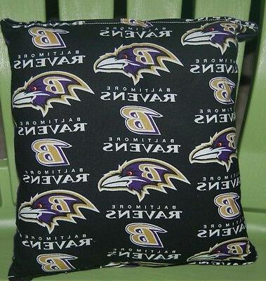 ravens pillow nfl pillow baltimore ravens pillow
