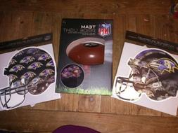 New Baltimore Ravens Team Pride Projector Light And 2 Car Ma