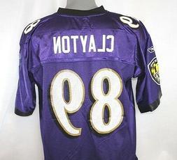 NEW Mens Reebok NFL Equipment Baltimore Ravens Michael Clayt