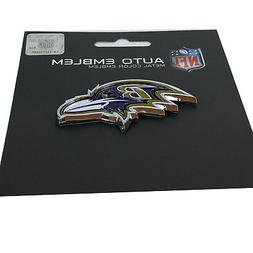 New NFL Baltimore Ravens Auto Car Truck Heavy Duty Metal Col