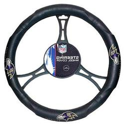 New NFL Baltimore Ravens Synthetic leather Car Truck Steerin