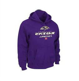 New NWT Mens NFL Baltimore Ravens Pullover Hoodie Hooded Swe