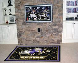 NFL - Baltimore Ravens 5 x 8 Rug