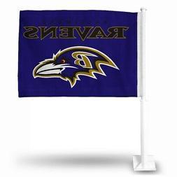 NFL Baltimore Ravens Car Flag