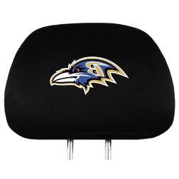 NFL Baltimore Ravens Head Rest Covers, 2-Pack