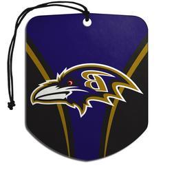 Team ProMark NFL Baltimore Ravens 2-Pack Air Freshener 2-4 D