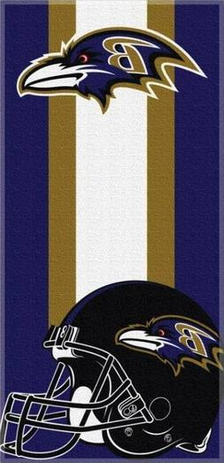 NFL Baltimore Ravens Bath/Beach Towel 30x60