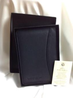 NFL Baltimore Ravens Black Leather note book portfolio small