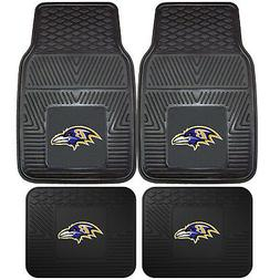 NFL Baltimore Ravens Car Truck Rubber Vinyl Heavy Duty All W