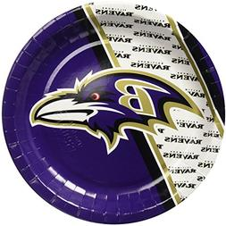 NFL Baltimore Ravens Disposable Paper Plate