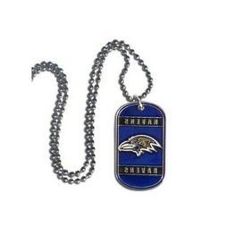 NFL Baltimore Ravens Dog Tag Necklace