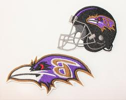 NFL Baltimore Ravens Embroidered  Iron-on Patch FREE SHIPPIN