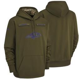 NFL Baltimore Ravens Hooded Sweater Thicken Men's Football T