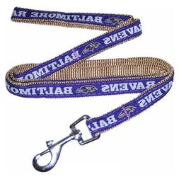 Pets First NFL Baltimore Ravens Pet Leash, Small