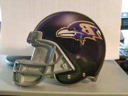 NFL Baltimore Ravens Metal Helmet Trailer Hitch Cover