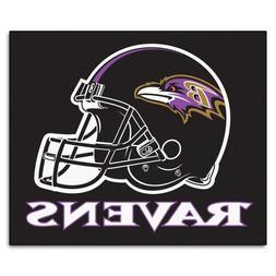 FANMATS NFL Baltimore Ravens Nylon Face Tailgater Rug