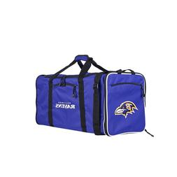 NFL Baltimore Ravens NFL Steal Duffel, Purple, Measures 28""