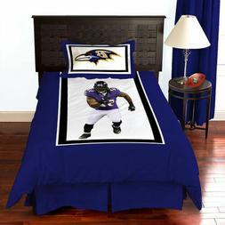 NFL Biggshots Bedding - Baltimore Ravens Ray Lewis Comforter
