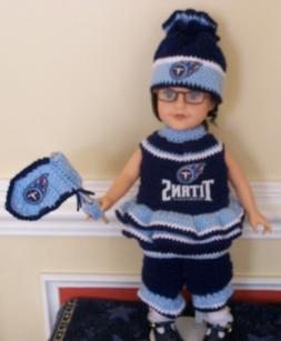 """HANDMADE NFL/CFL Team Clothing & Accessories FOR 18"""" JOURNEY"""