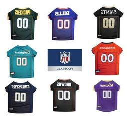 NFL football Pet Gear Dog / Cat Jerseys Game Day XS-XXL All