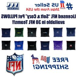 NFL Licensed Pillow. Comfortable, Soft-Plush Top-Quality for