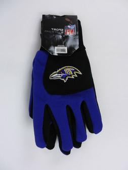 NFL Sport Utility Gloves Baltimore Ravens Purple Black Forev