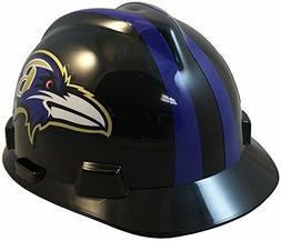 MSA Type I Baltimore Ravens NFL Hard Hat Pin Type Suspension