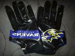UNDER ARMOUR XL ADULT BALTIMORE RAVENS RECEIVER FOOTBALL GLO